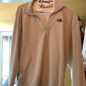 The North Face Beige Pullover